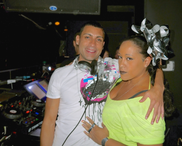 DJ Ricardo & Promoter, Manager, Diva of XL  Roze Black