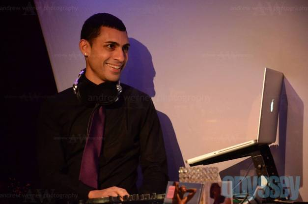 DJ Ricardo dj's at the NYC Nightlife Awards